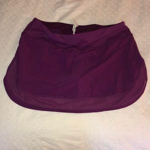 Lululemon NWOT short/skort Never worn!